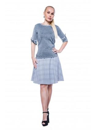 Pullover aus Glanzgarn von BlueMary