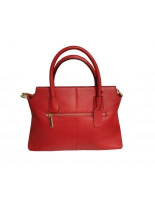 Angesagte Handtasche aus echtem Leder