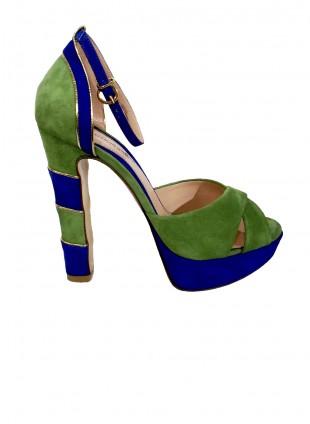 Italienische Plateau-Schuhe
