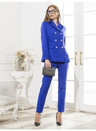 Damen Hosenanzug Royalblau von BlueMary