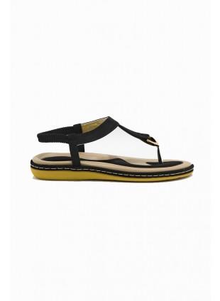 Flache Sandaletten Zehentrenner